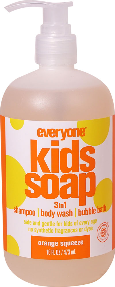 EO Essential Oil Products Everyone ™ Kids Soap 3in1 Orange Squeeze - 16 fl oz: отзывы и инструкция как принимать