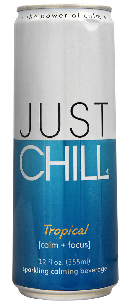 Just Chill All Natural Sparkling Calming Beverage Tropical - 12 fl oz: отзывы и инструкция как принимать