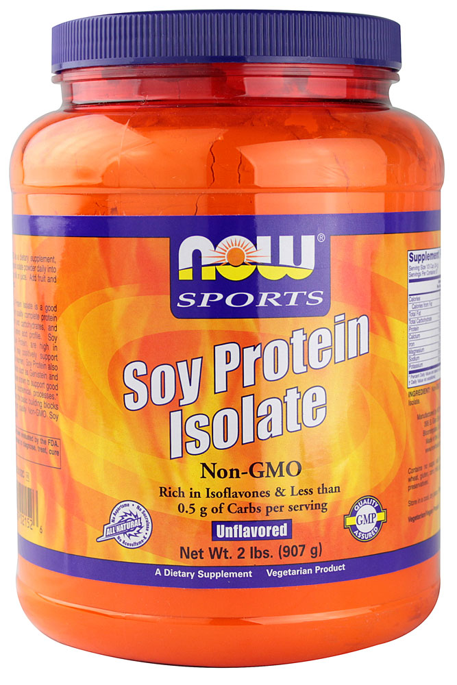 NOW Foods Sports Soy Protein Isolate Unflavored - 2 фунта: отзывы и инструкция как принимать