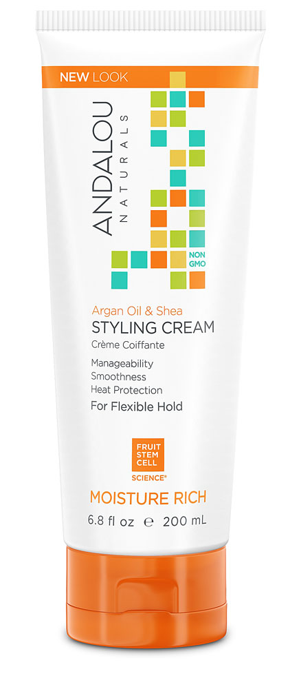 Andalou Naturals Styling Cream Argan Oil & Shea Moisture Rich - 6.8 fl oz: отзывы и инструкция как принимать