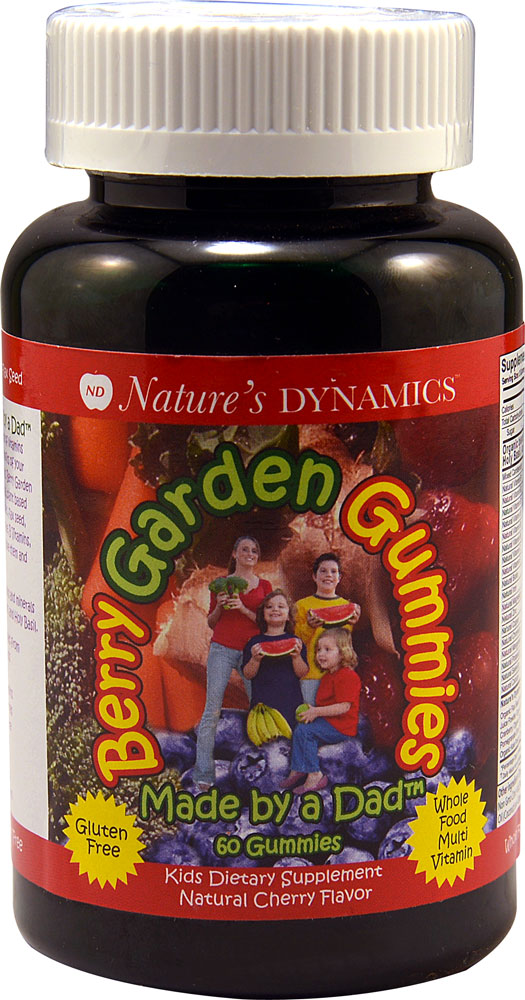 Nature's Dynamics Berry Garden Gummies Kids Multi Natural Cherry - 60 Gummies: отзывы и инструкция как принимать