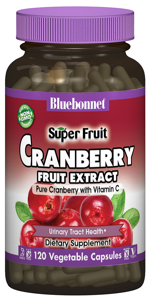Bluebonnet Nutrition Super Fruit Cranberry Fruit Extract - 60 Vcaps®: отзывы и инструкция как принимать