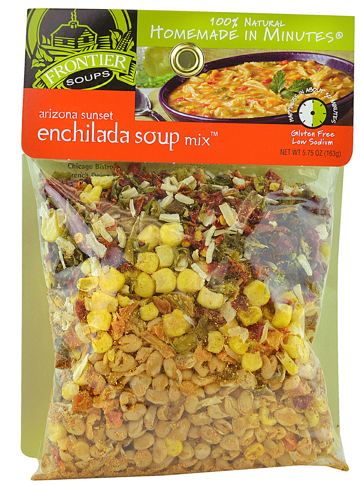 Frontier Soups Homemade In Minutes® Gluten Free Arizona Sunset Enchilada Soup Mix ™ - 5,75 унции: отзывы и инструкция как принимать