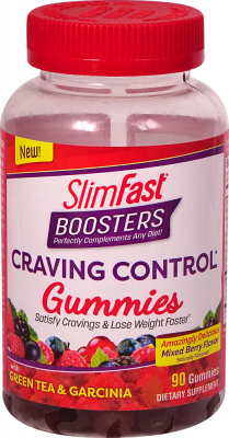Slim-Fast Boosters Craving Control Gummies Mixed Berry - 90 Gummies: отзывы и инструкция как принимать