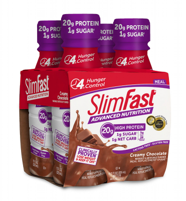 Slim-Fast Original High Protein RTD Shake Creamy Milk Chocolate - 4 Pack: отзывы и инструкция как принимать